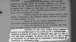 HOVE-REGULERING: Arendal kommune ville ikke stoppet reguleringen av Hove camping selv om klausulen i skjøtet fra 1939 hadde vært kjent fra før, ifølge kommunalsjef Geir Skjæveland. Faksimile: Statsarkivet / Montasje