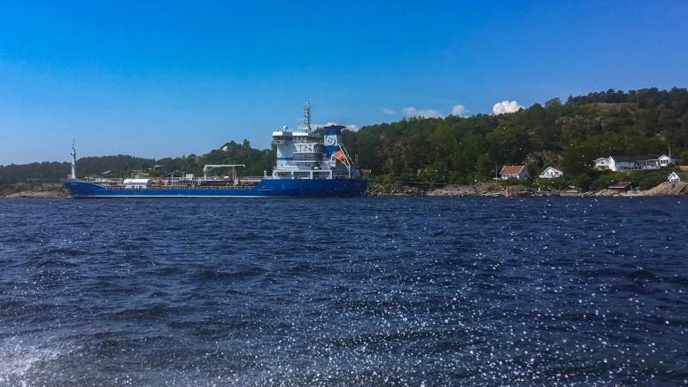 SANDVIGODDEN: Arendal havn KF vil ta over driften av tankanlegget på Sandvigodden og ta kostnaden med nødvendig oppgradering. Foto: Esben Holm Eskelund