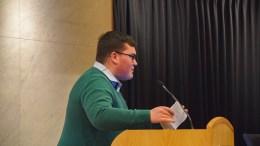 MDG FOR LNF: Bystyrerepresentant Jens Aldo Carisso-Nilsen (MDG) går inn for landbruks-, natur- og friluftsområde som formål på Hoveodden. Arkivfoto