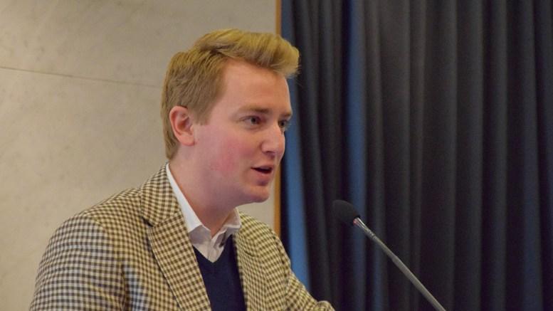 DEBATT-OPPGJØR: Haagen Poppe (H) tok et oppgjør med debattklimaet og varsler sak om etiske retningslinjer for bystyret. Foto: Esben Holm Eskelund