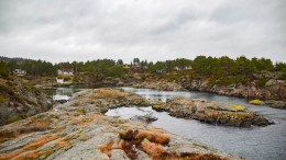 LAKSEHYTTA: Et godt eksempel på at en funksjon har gitt et område navn. Foto: Esben Holm Eskelund