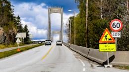 TROMØYBROA: Rådmannen i Arendal foreslår at det ikke settes i gang planarbeid for ny adkomst / bro til Tromøy denne valgperioden. Foto: Esben Holm Eskelund