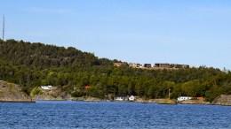 MARISBERG: Et nytt boligfelt reiser seg på Marisberg, med utsikt mot Hovekilen. Foto: Esben Holm Eskelund
