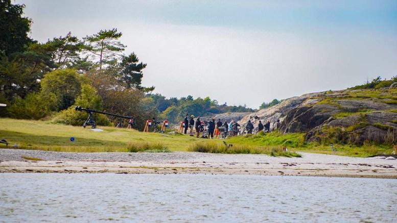 MESTERNES MESTER: Raet nasjonalpark har offentliggjort innspillingsstedene som ble tillatt sperret av da Mesternes Mester ble spilt inn i september. Foto: Esben Holm Eskelund