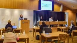 BEKYMRET FOR BRUKERNE: Mobbeombud Guro Haslekås Solheim orienterte formannskapet om ombudets arbeid så langt i 2020, og minnet dem om at ombudet ligger i rådmannens pott over mulige kostnadskutt. Foto: Esben Holm Eskelund