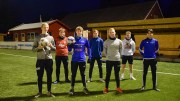 LOKALOPPGJØR: Trauma Jr 2 er klare til å ta imot Grane på hjemmebane på Hove, og håper på mange publikummere på kampen, som laget mener blir årets begivenhet. Foto: Esben Holm Eskelund