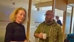 TIL SENTERPARTIET: De to Hovelista-utbryterne Kristina Stenlund Larsen og Tomm Wilgaard Christiansen har meldt seg inn i Senterpartiet i Arendal. Arkivfoto
