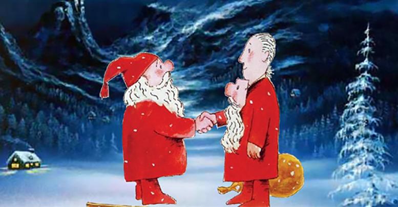 SNEKKER ANDERSEN: Arendal kulturhus gir mulighet til å oppleve tromøyvennen Alf Prøysens udødelige julefortelling to ganger i år. Pressefoto