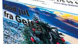 JULEUTGAVE I PAPIR: Lokalavisen Geita er ute med sin tredje juleutgave på papir. Her kan du se den i digitalt format.