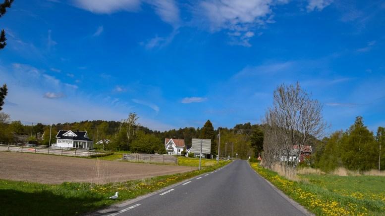 HOLDER FARTSGRENSEN: Agder fylkeskommune kan ikke sette ned fartsgrensen på Hoveveien, og viser til nasjonale retningslinjer. Arkivfoto