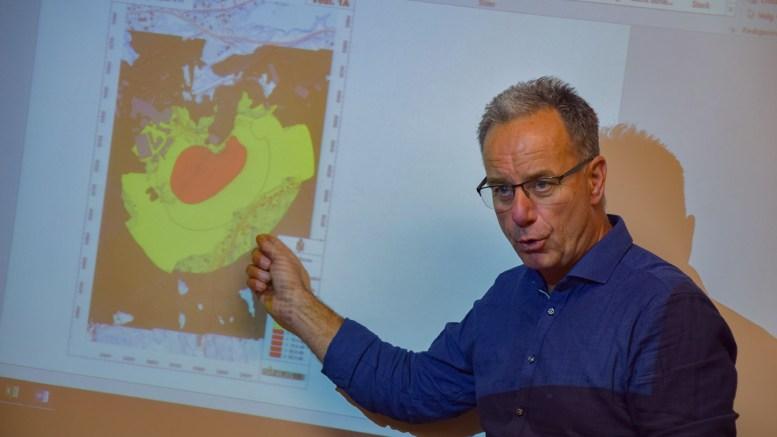 STØYPROBLEMATIKK: Havnesjef Rune Hvass opplyste havnestyret om at Arendal havn KF kun kan kontrollere den offentlige virksomheten, mens støyutfordringer fra private aktører i samme område må rettes til andre enn foretaket. Arkivfoto