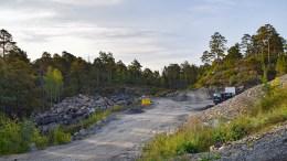 TYBAKKTOPPEN: Boligfeltet har eget navn, og nå kan veiene som kommer i feltet også få helt egne navn. Arkivfoto