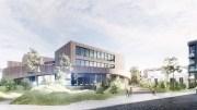 INTENSJONSAVTALE: Formannskapet går enstemmig inn for at bystyret skal gi klarsignal til forhandling med Arendal Fossekompani, som tilbyr badeland på Vindholmen og vil leie ut til Arendal kommune. Illustrasjon