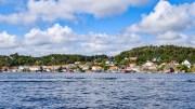 REVESAND: Det strides fortsatt mellom e og æ om denne uthavna. Foto: Esben Holm Eskelund