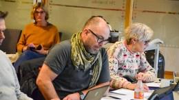 BURDE FJERNES: Sps Tomm Wilgaard Christiansen rettet skarp kritikk mot kommunen i håndteringen av bryggespørsmålet på Hoveodden. Arkivfoto