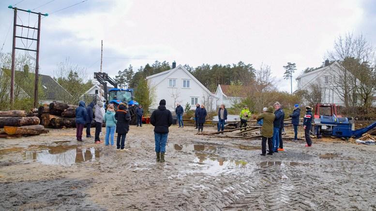 GÅRDSKNUTEN: Kommuneplanutvalget i Arendal gir fortsatt rammetillatelse, men med en endret plassering, for driftsbygningen som er søkt satt opp på Bjelland. Arkivfoto
