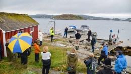 HAR VALGT: Kommuneplanutvalget anbefaler å ikke flytte ferjeanløpet på Merdø vekk fra Fram-Merdø. Arkivfoto