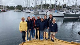 NM-SEILERE: Åtte seilere fra Arendals Seilforening deltok i NM i Bergen. To tromøyjenter sikret seg overraskende pallplasseringer. Foto: Arendals seilforening