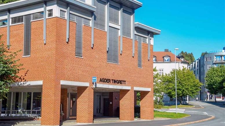 AGDER TINGRETT: Rettsbygningen i Arendal. Illustrasjonsfoto