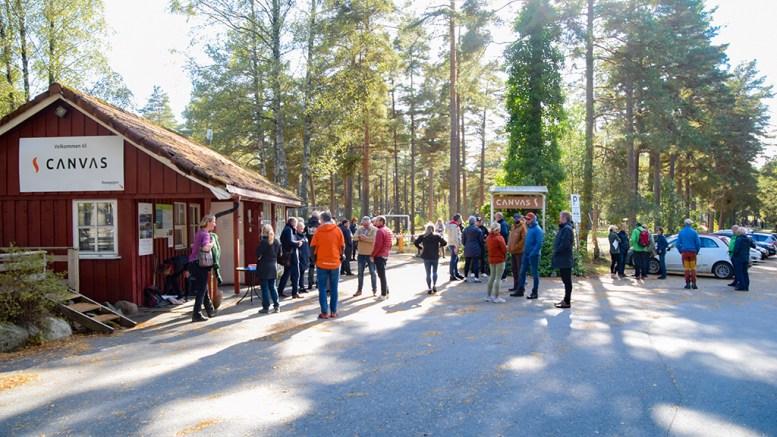 GÅR FOR UTVIKLING: Et flertall i bystyret går inn for å åpne for regulering til fortsatt camping på Hoveodden. Nå skal forslaget på høring. Foto: Esben Holm Eskelund