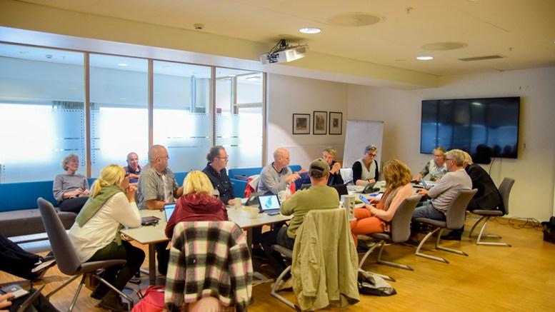 HOVE-SAKEN: Kommuneplanutvalget fikk nok en gang en krevende saksbehandling av reguleringssaken for campingen på Hoveodden. Foto: Esben Holm Eskelund