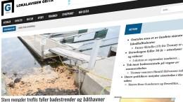 OFTERE OPPDATERT: Lokalavisen Geita øker publiseringstakten. Illustrasjonsfoto