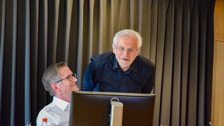 NY INNPAKNING: Ordfører Robert C. Nordli (Ap) vil at bystyret endrer rådmann Harald Danielsens stillingstittel. Arkivfoto