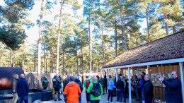KONSEKVENSER: Bystyrevedtaket om utvikling av campingen kan gi reduserte grønne siktsoner, parkeringskaos og effekten vedtaket kan få for fuglelivet er umulig for kommunedirektøren å spå utfallet av. Nå er planforslaget for del av Hoveodden sendt på høring med oppdaterte konsekvensvurderinger. Foto: Esben Holm Eskelund