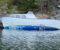 HAVARERT SJEKTE:Arendal kommune krever sjekta, som ligger i Tromlingsund fjernet fordi den utgjør en miljøfare. Foto: Arendal kommune