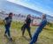LIDENSKAP FOR HAVET: Kaya Asdal i Grid Arendal, marinbiolog Pia Ve Dahlen og kunnskapsformidler Øivind Berg i samtale om prosjektet, som skal gi folk mer kunnskap om livet under vann. Foto: Esben Holm Eskelund