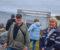 SPORNESUTSTILLINGEN: Fotograf Jarle Kvam og maler Elin Ohlsen stiller ut i Raet nasjonalpark på Spornes i den første utgaven av Spornesutstillingen. Foto: Esben Holm Eskelund