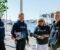 LYDLØS FESTIVAL: Førstkommende helg er det klart for båtfestival. Ragnhild Hammer, Peder Tellefsdal, Sidsel Pettersen og Ståle Almenning er i arrangementskomitéen og lover moro for hele familien. Pressefoto