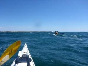 een surf richting ile d'houat