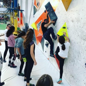 aprender a escalar con niños