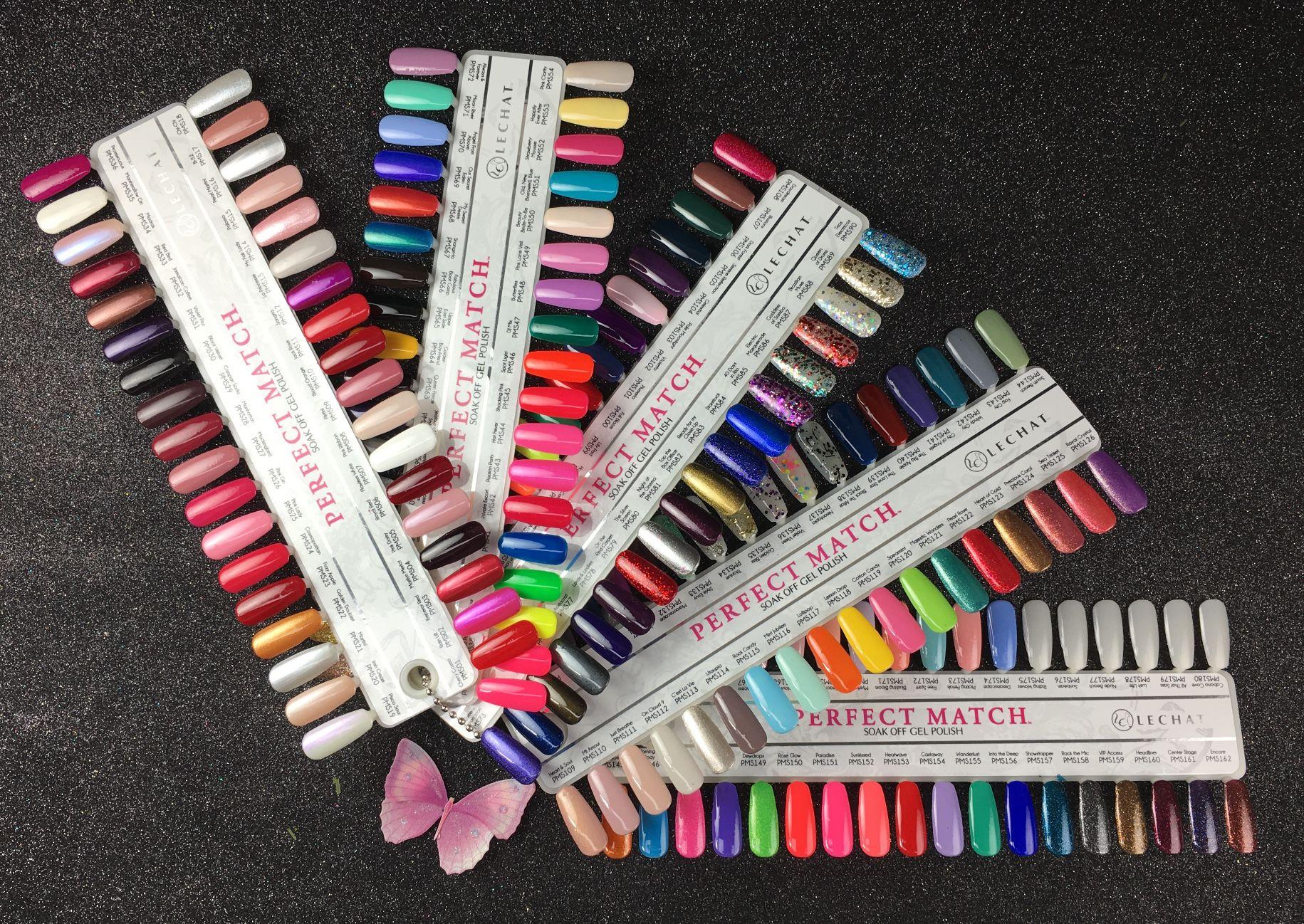 Lechat Perfect Match Full Color Palette 190pcs  wwwGelNailscom