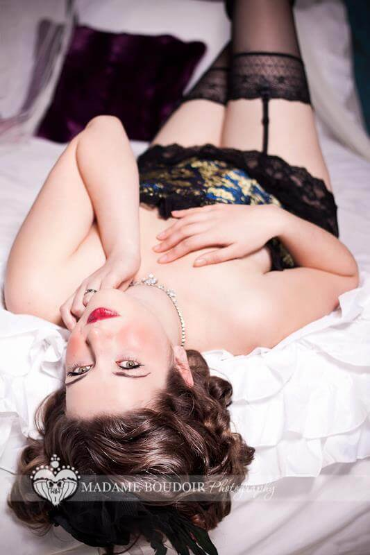 Madame Boudoir shoot