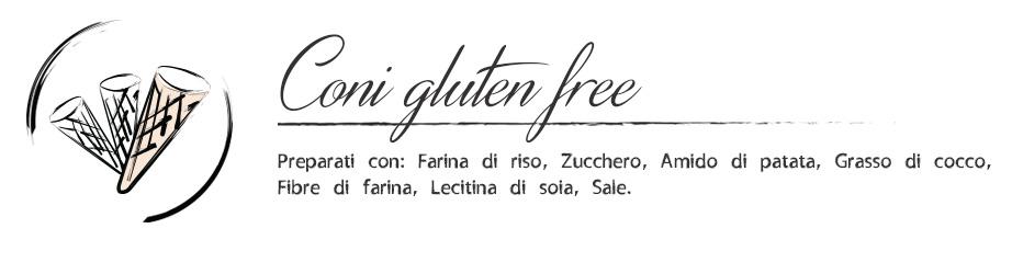 Gelateria Millennium - coni gluten free