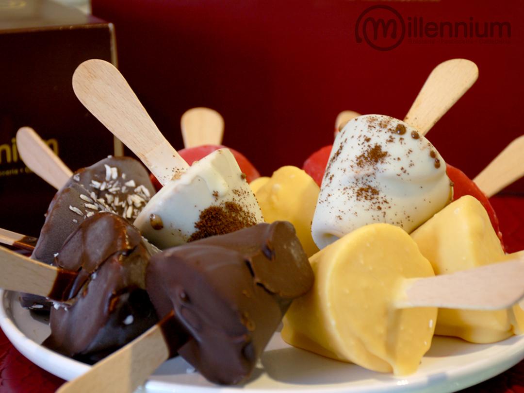 Gelateria Millennium, gelato stecco artigianale a Roma Prati