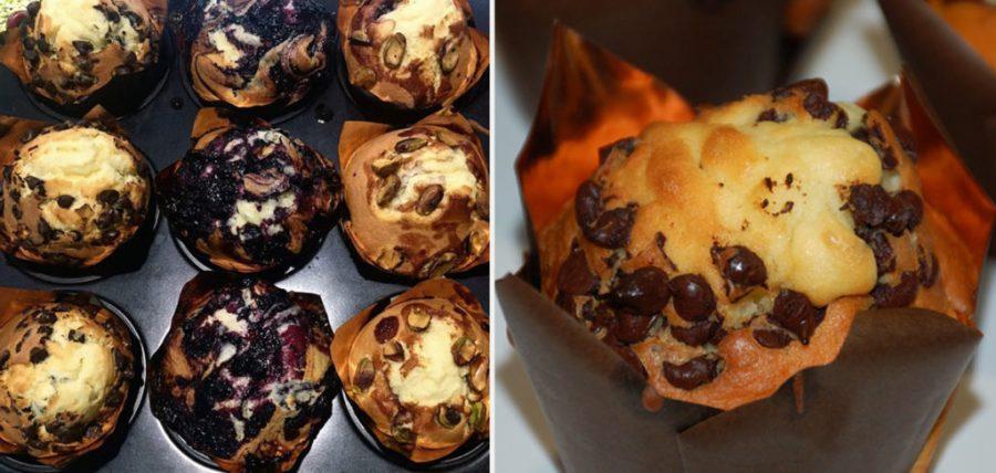 Muffin artigianali da gelateria Millennium