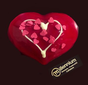 Gelateria Millennium - Torta di San Valentino