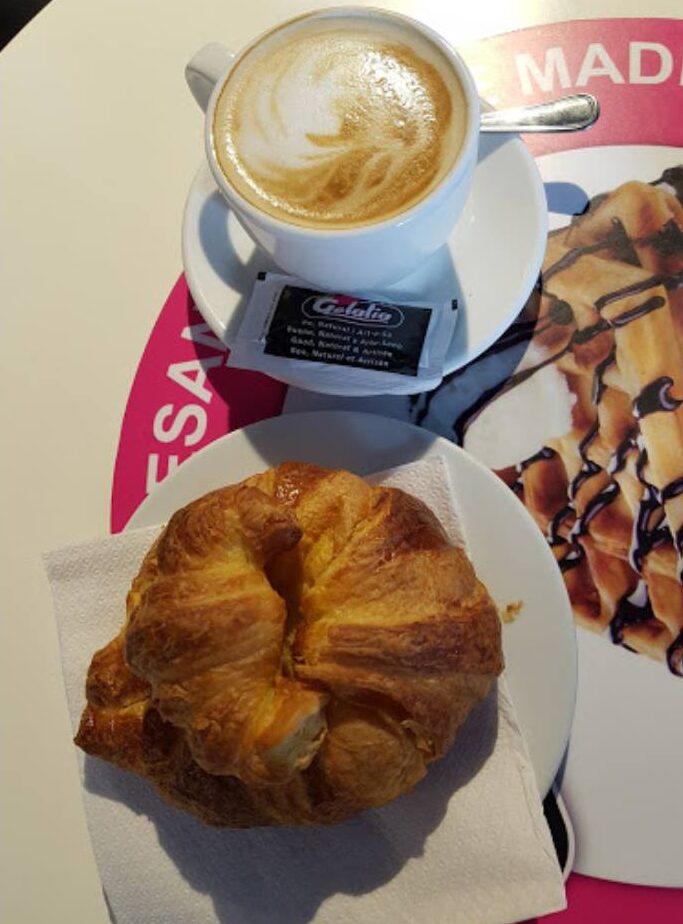helados, café, croissant, muffins, la pineda, salou