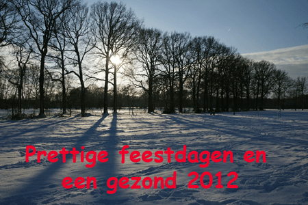 Kerstgroet redactie Wijkblad Coevering