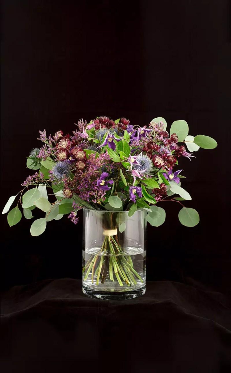 Gėlių puokštė Raganiukė