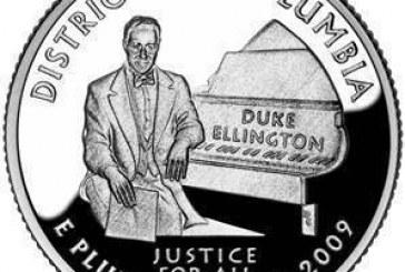Músico Duke Ellington é o 1º negro em uma moeda dos EUA