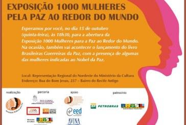 Exposição 1000 Mulheres pela paz ao redor do mundo
