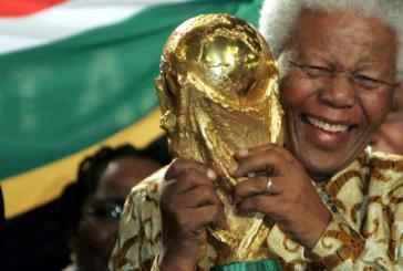 Mandela destaca honra de realizar Copa na África