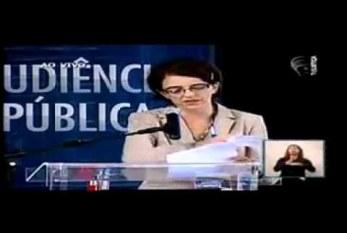 Audiência Pública Denise Carreira