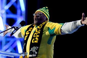 África do Sul abre a Copa com música e campanha por educação