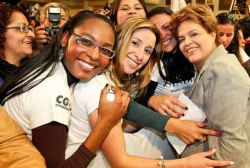 Para Dilma, o 'mulherio' está começando a tomar posição