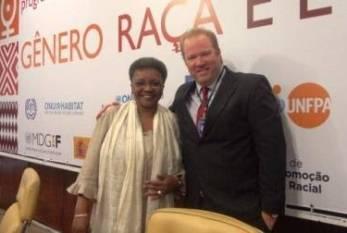 Carta de intenções entre ONU e Brasil abre outra história, diz ministra Luiza Bairros